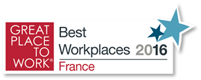 Logo Best workplaces 2016